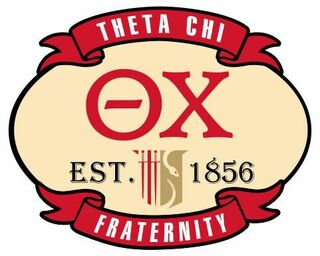 Theta Chi Banner Crest - Shield Decal