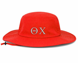 Theta Chi Greek Manta Ray Boonie Hat