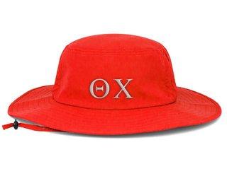 Theta Chi Greek Manta Ray Boonie Hat