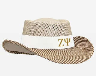 Zeta Psi Straw Hat