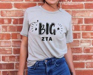 Zeta Tau Alpha Big Sister Bella T-Shirt