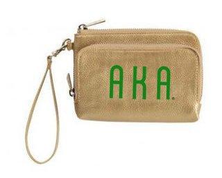 Alpha Kappa Alpha Sloane Wristlet