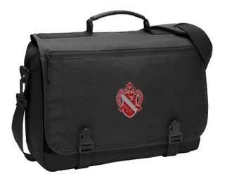 DISCOUNT-Alpha Phi Emblem Briefcase