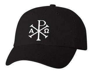 Chi Rho Baseball Hat