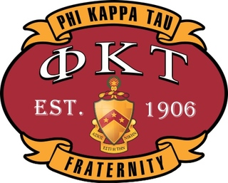 Phi Kappa Tau Banner Crest - Shield Decal