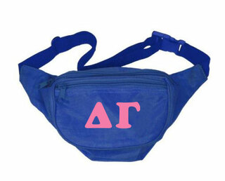 Delta Gamma Sorority Big Letter Fanny Pack