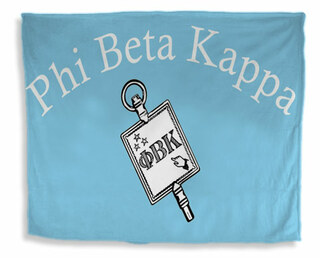 Phi Beta Kappa Flag Giant Velveteen Blanket