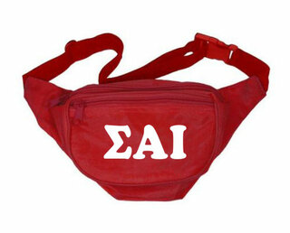 Sigma Alpha Iota Sorority Big Letter Fanny Pack