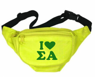 Sigma Alpha Sorority Fanny Pack
