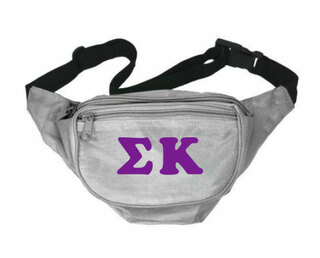 Sigma Kappa Sorority Big Letter Fanny Pack