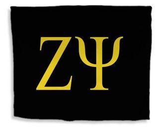 Zeta Psi Flag Giant Velveteen Blanket