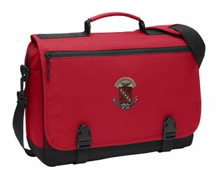 DISCOUNT-Sigma Kappa Emblem Briefcase