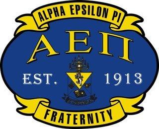 Alpha Epsilon Pi Banner Crest - Shield Decal