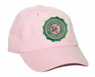 DISCOUNT-Alpha Kappa Alpha Crest - Shield Seal Hat