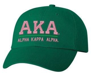 Alpha Kappa Alpha Old School Greek Letter Hat