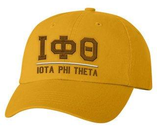 Iota Phi Theta Old School Greek Letter Hat