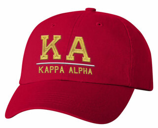 Kappa Alpha Old School Greek Letter Hat