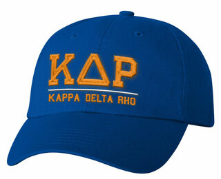 Kappa Delta Rho Old School Greek Letter Hat