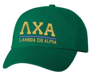 Lambda Chi Alpha Old School Greek Letter Hat