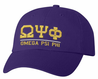 Omega Psi Phi Old School Greek Letter Hat