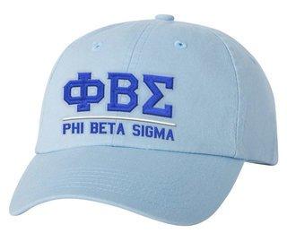 Phi Beta Sigma Old School Greek Letter Hat