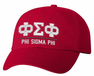 Phi Sigma Phi Old School Greek Letter Hat