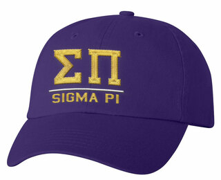 Sigma Pi Old School Greek Letter Hat