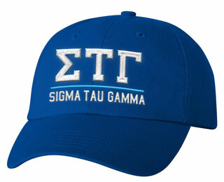 Sigma Tau Gamma Old School Greek Letter Hat