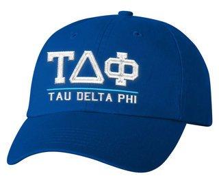 Tau Delta Phi Old School Greek Letter Hat