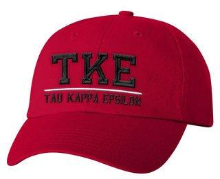 Tau Kappa Epsilon Old School Greek Letter Hat