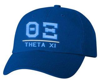 Theta Xi Old School Greek Letter Hat