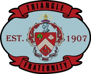Triangle Banner Crest - Shield Decal