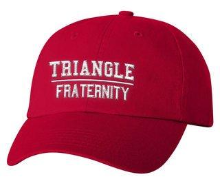 Triangle Old School Greek Letter Hat