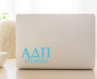 Alpha Delta Pi Alumna Decal