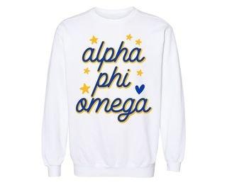Alpha Phi Omega Star Sweatshirt