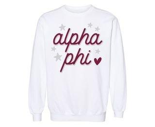Alpha Phi Star Sweatshirt