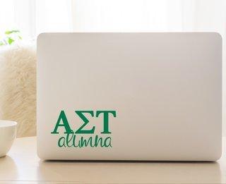 Alpha Sigma Tau Alumna Decal
