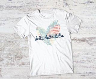 Delta Delta Delta Paradise Tee