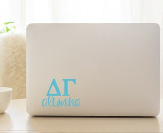 Delta Gamma Alumna Decal