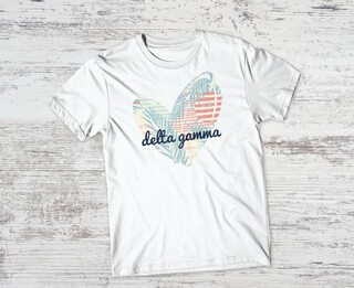 Delta Gamma Paradise Tee