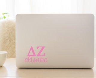 Delta Zeta Alumna Decal