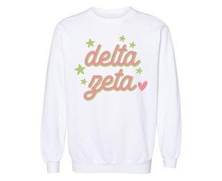 Delta Zeta Star Sweatshirt