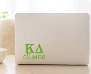 Kappa Delta Alumna Decal