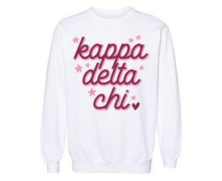 Kappa Delta Chi Star Sweatshirt