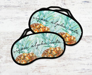 Sigma Alpha Iota Pineapple Eye Mask