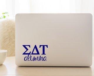Sigma Delta Tau Alumna Decal