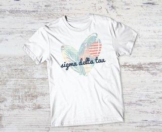 Sigma Delta Tau Paradise Tee