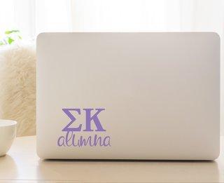 Sigma Kappa Alumna Decal