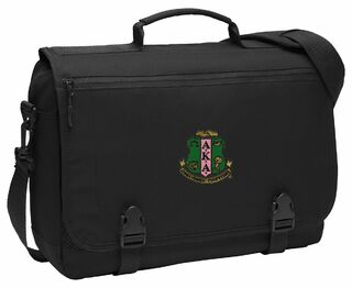 DISCOUNT-Alpha Kappa Alpha Emblem Briefcase