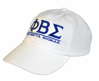 Phi Beta Sigma World Famous Line Hat